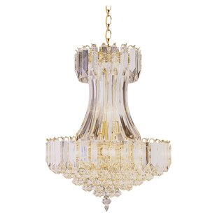 TransGlobe Lighting Back To Basics 8-Light Chandelier