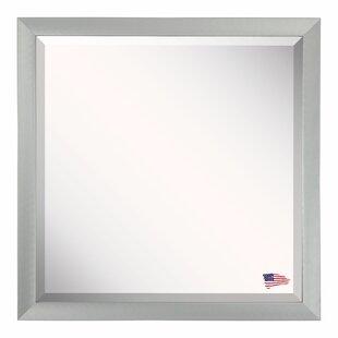 Latitude Run Soft Silver Framed Wall Mirror