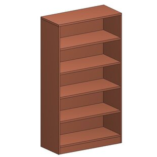 Hyperwork Standard Bookcase by High Point Furniture
