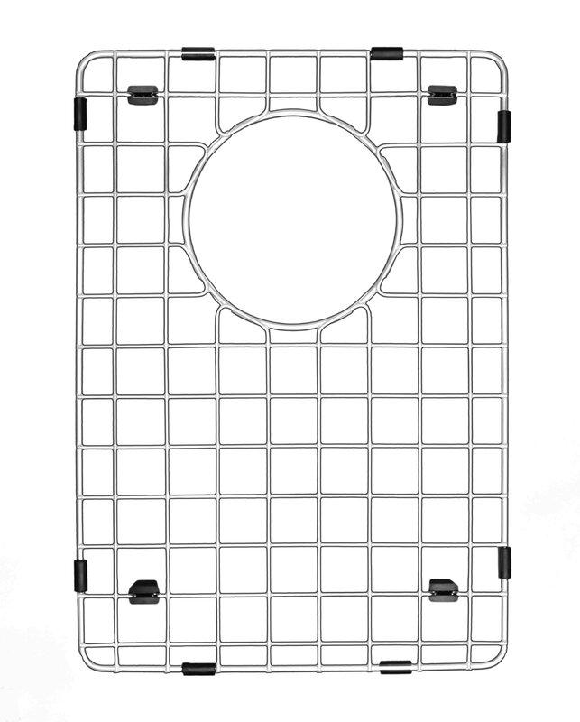 Karran Karran GR-2002 Stainless Steel Bottom Grid 12-1/2 X 17-1/2
