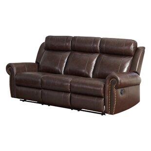 Jayne Leather Reclining Sofa