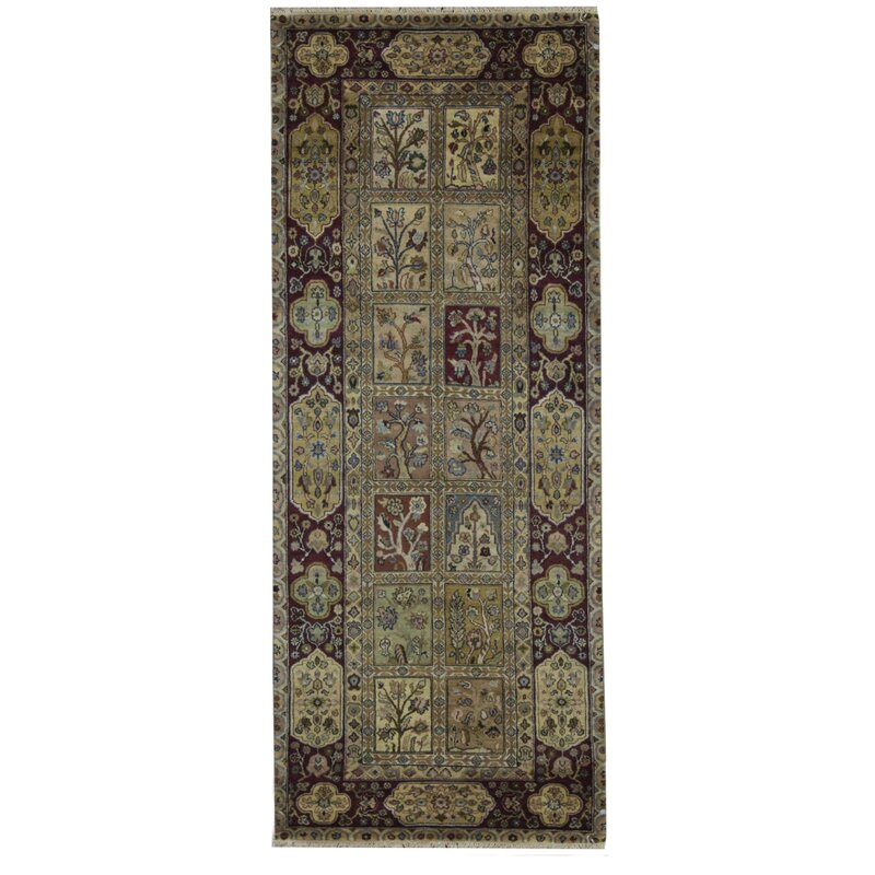 Crown India Hand Knotted Runner