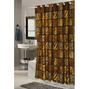Pendik Wild Encounter Shower Curtain ByWorld Menagerie
