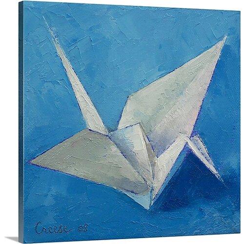 Easy Origami Crane Tutorial - Tsuru - Paper Kawaii - YouTube | 500x500
