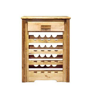 Abella 16 Bottle Floor Wine Rack by Loon ..