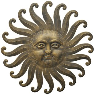 metal sun wall art Outdoor Metal Sun Wall Art | Wayfair metal sun wall art
