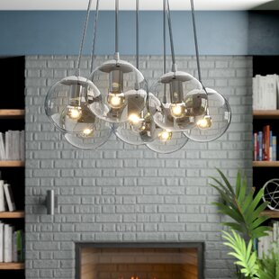 Wrought Studio Roni 7-Bulb Cluster Pendant