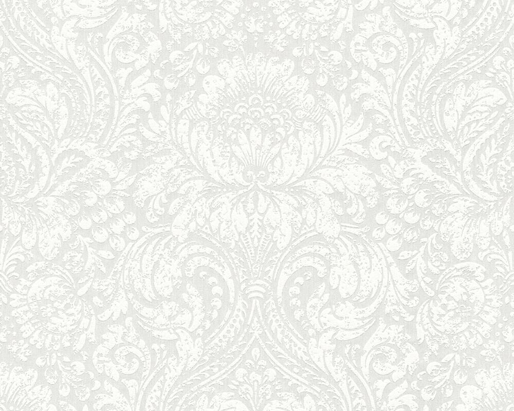 blanc the fascination of elegant 33 l x 21 w paisley wallpaper roll
