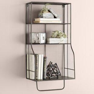 Wyble Distressed Wall Storage Organizer by Trent Austin Design