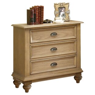 Margate 3 Drawer Bachelor's Chest by Three Posts