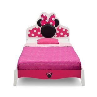 Delta Children Disney Minnie Mouse Wood Twin Panel Bed