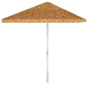Corkboard 6' Square Market Umbrella by Best of Times