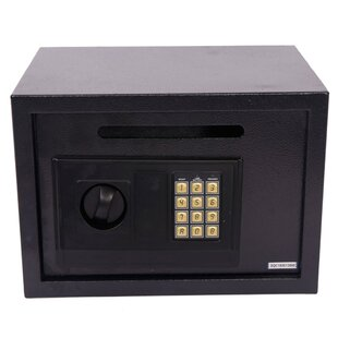 JTplus Electronic Digital Safe Box with Keypad Lock