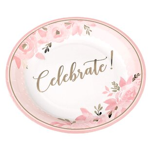 Bridal Shower Plates (Set of 8)