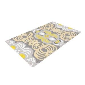 Superior Gill Eggleston Chalene Yellow/Gray Area Rug