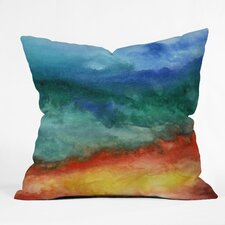 Jacqueline Maldonado Leaving California Throw Pillow