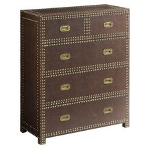 Brookhurst Faux Leather Accent Chest by Darby Home Co