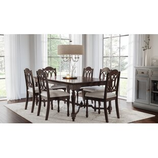 Piazza 7 Piece Dining Set by August Grove