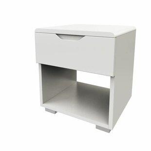 Gordy 1 Drawer Bedside Table By Brayden Studio