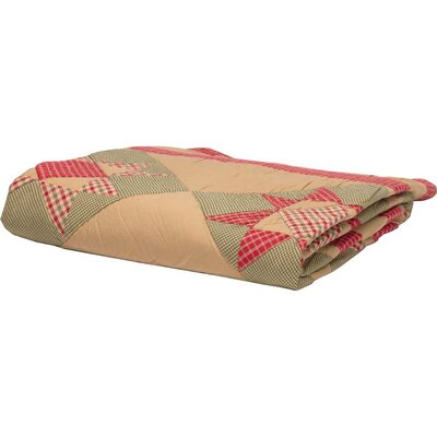 Pearce Holiday Primitive Decor Quilted Cotton Throw August Grove