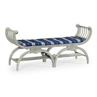 Double Lucca Wood Bench