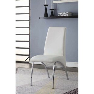Shute Upholstered Dining Chair (Set of 2) Orren Ellis