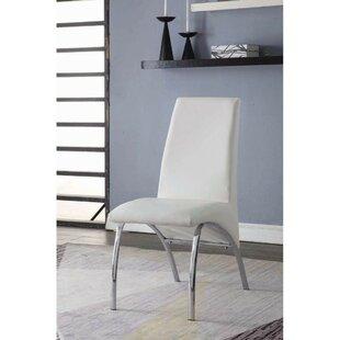 Shute Upholstered Dining Chair (Set of 2) by Orren Ellis
