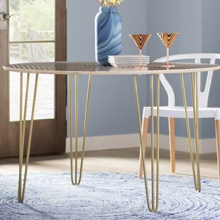 Corbin Solid Wood Dining Table Wade Logan