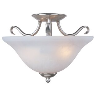 Three Posts Luper 2-Light Semi Flush Mount