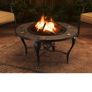 Sunjoy Sumpter Steel Wood Burning Fire Pi..