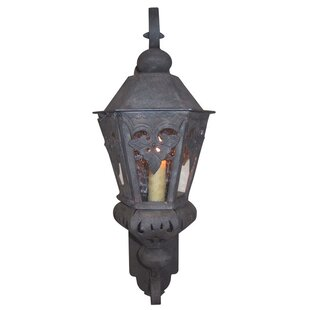 Top Morocco 1-Light Outdoor Wall Lantern By Laura Lee Designs