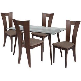 Ebern Designs Lulu 5 Piece Dining Set