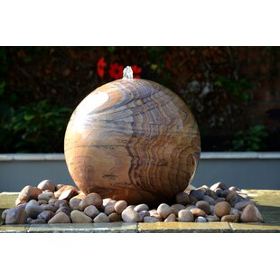 Vanpelt Natural Stone Belmont Rainbow Water Feature And Kit By Sol 72 Outdoor