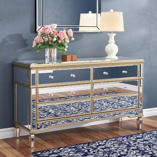 Mirror 6 Drawer Standard Dresser/Chest