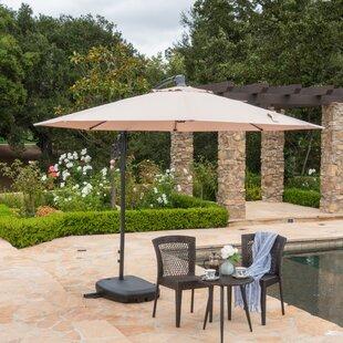 Darby Home Co Desirat 9.5' Square Cantilever Umbrella