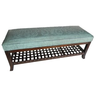 Navarette Hardwood Bench by Astoria Grand New Design