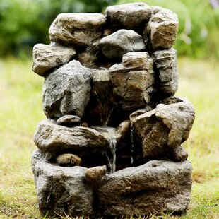 Jeco Inc. Small Rock Water Fountain