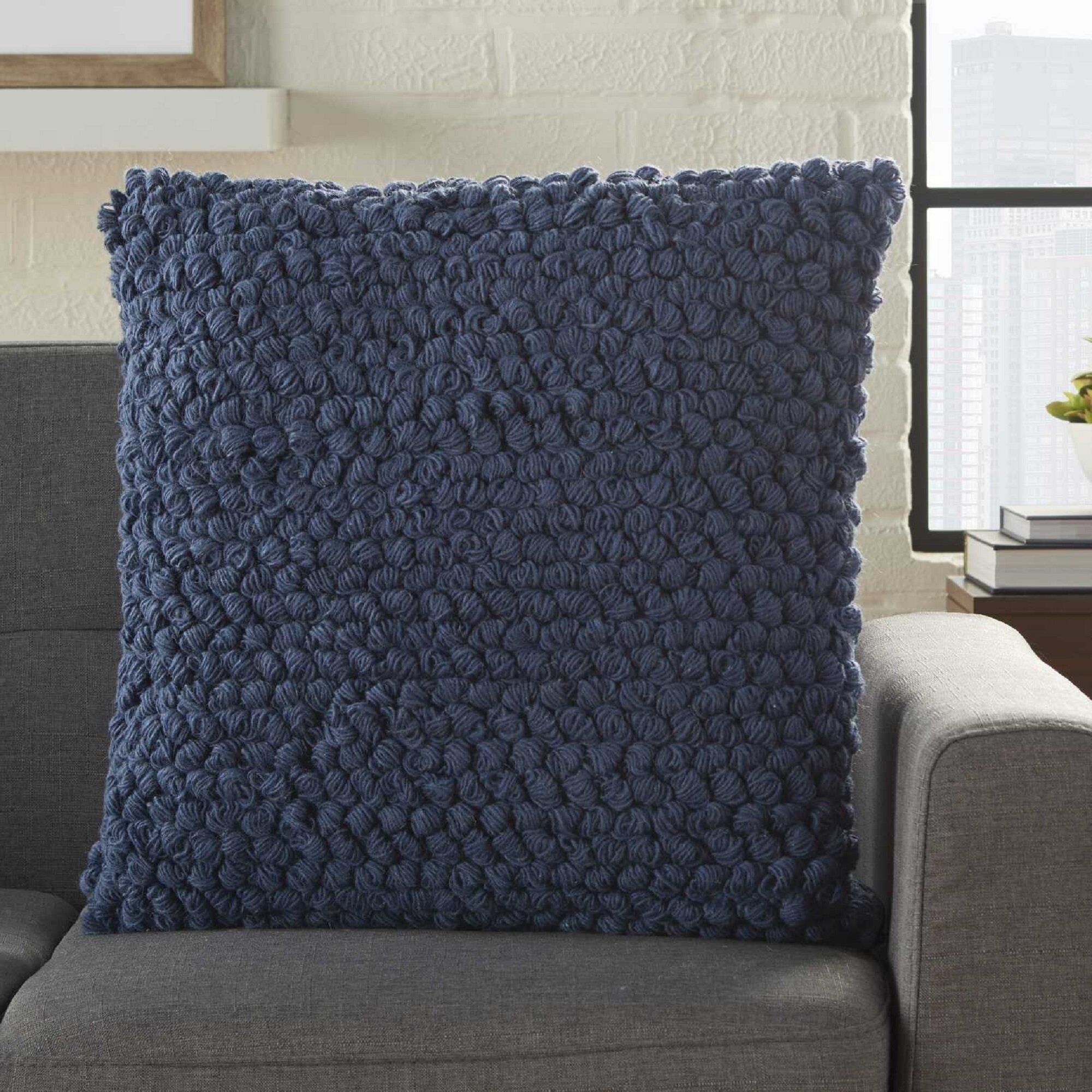 Image of: Blue Throw Pillows You Ll Love In 2020 Wayfair
