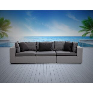 Malani Patio Sofa with Sunbrella Cushions by Brayden Studio