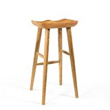 Fredric Solid Wood Bar & Counter Stool by Millwood Pines