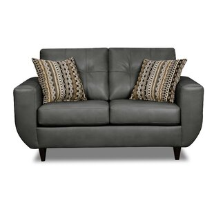 Simmons Upholstery Quarterman Loveseat by Latitude Run