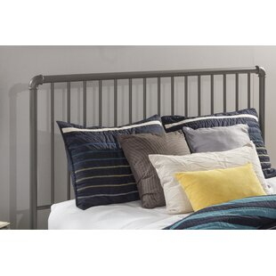 Jessie Slat Metal Headboard by Trent Austin Design