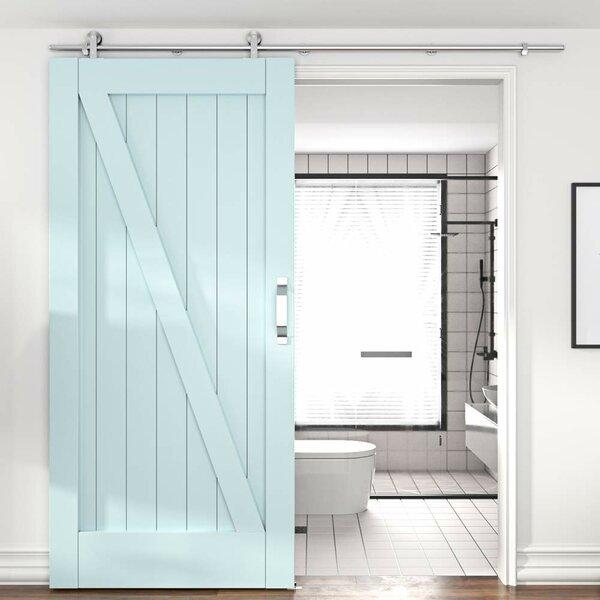 winsoon Sliding Standard Single Door Barn Door Hardware ...