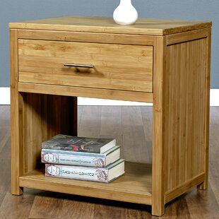 Acosta 1 Drawer Nightstand by Millwood Pines