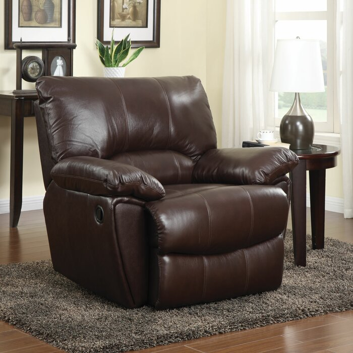 Stupendous Red Bluff Leather Manual Recliner Bralicious Painted Fabric Chair Ideas Braliciousco