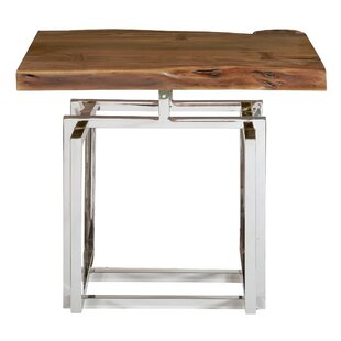 Great choice Fitzhugh End Table by Bloomsbury Market