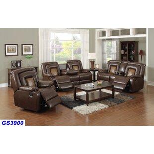 Ruelas 3 Piece Reclining Living Room Set