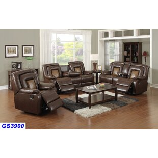 Coupon Ruelas 3 Piece Reclining Living Room Set by Red Barrel Studio Reviews (2019) & Buyer's Guide