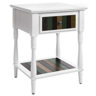 Haggerton End Table with Storage by World Menagerie