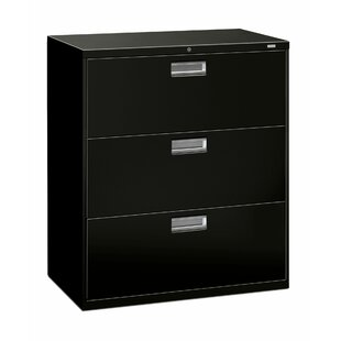 Brigade 600 Series 36W 3-Drawer Lateral Filing Cabinet